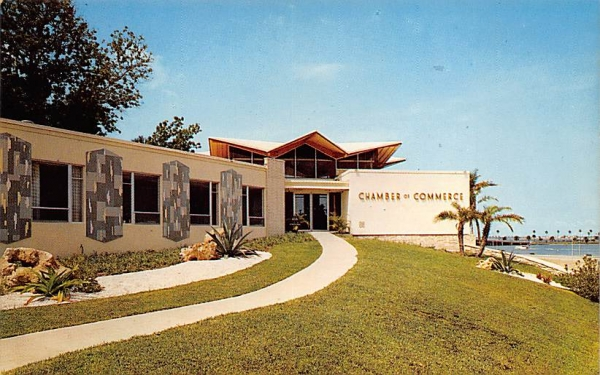 Chamber of Comerce Clearwater, Florida Postcard