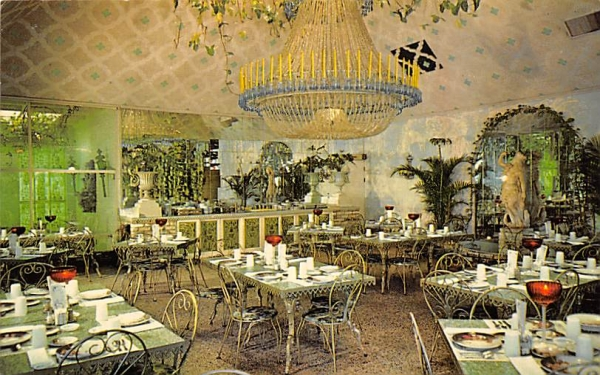 Chandelier Room at The Kapok Tree Inn Clearwater, Florida Postcard