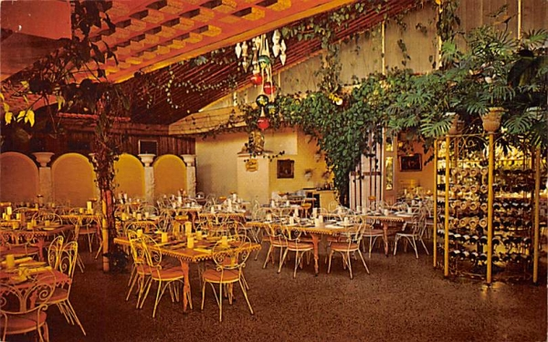Main Dining Room at The Kapok Tree Inn Clearwater, Florida Postcard