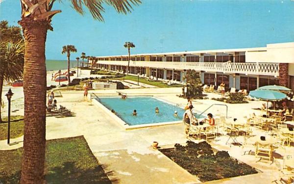 Hilton Inn Clearwater Beach, Florida Postcard