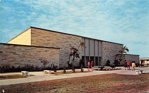 Library at Clearwater Campus Florida Postcard