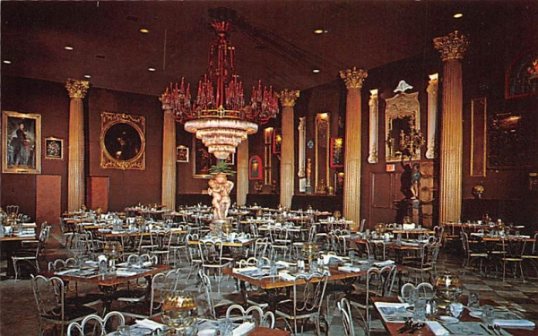 The Gallery Dining Room at Kapok Tree Inn Clearwater, Florida Postcard