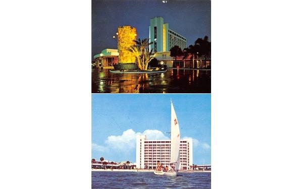 Stan Musical & Biggie's Clearwater Beach Hilton Hotel Florida Postcard
