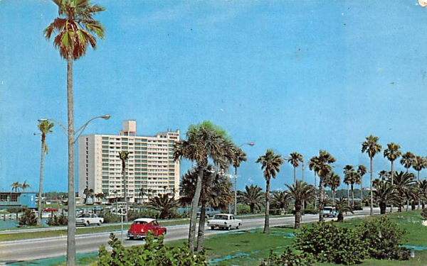 Scenic Clearwater Causeway Florida Postcard