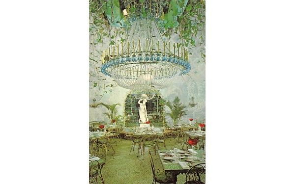 The Chandelier Room at The Kapok Tree Inn Clearwater, Florida Postcard