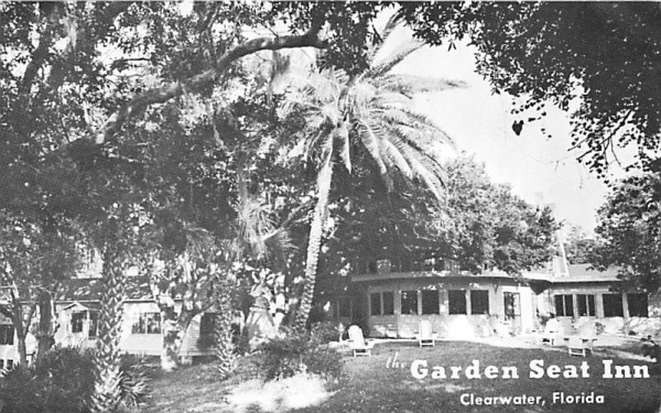 The Garden Seat Inn Clearwater, Florida Postcard