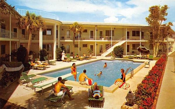 Sharlo Manor Clearwater Beach, Florida Postcard
