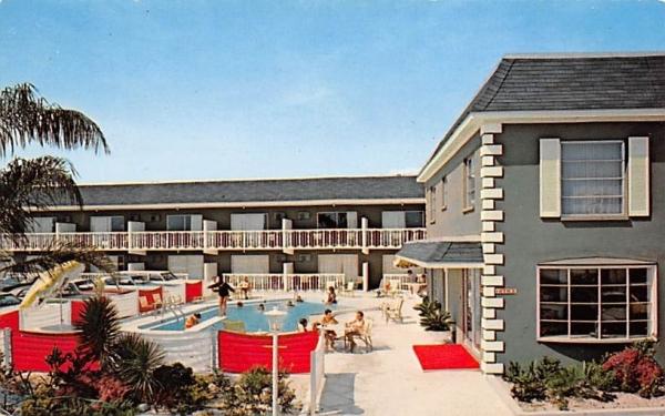 Red Carpet Resort Clearwater Beach, Florida Postcard