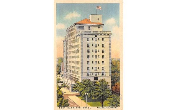 Fort Harrison Hotel Clearwater, Florida Postcard