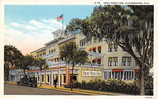 Gray Moss Inn Clearwater, Florida Postcard