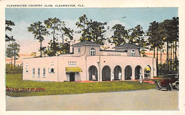 Clearwater Country Club Florida Postcard