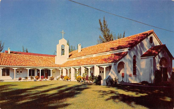 Chapel By The Sea Clearwater, Florida Postcard