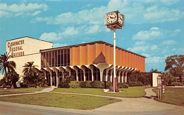 Clearwater Federal Savings and Loan Association Florida Postcard
