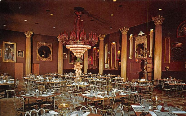 Kapok Tree Inn, The Gallery Dining Room Clearwater, Florida Postcard