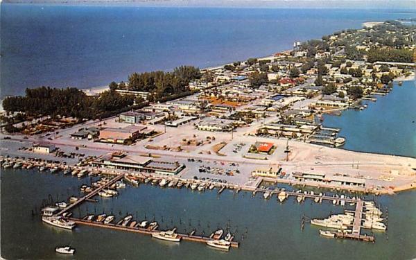 Clearwater Boat Marina Clearwater Beach, Florida Postcard