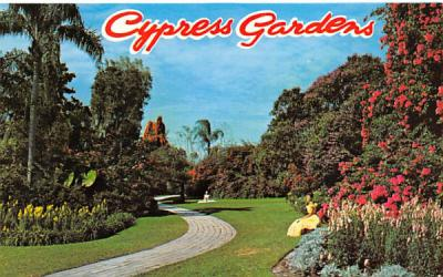 Cypress Gardens Cyress Gardens, Florida Postcard