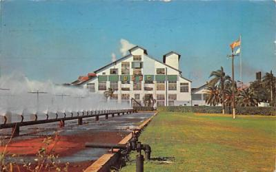 Largest way Sugar House in Continental United States Clewiston, Florida Postcard