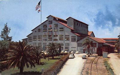 Largest Raw Cane Sugar House in United States Clewiston, Florida Postcard