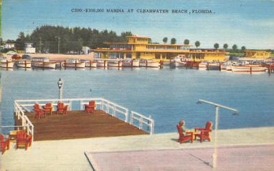 $300,000 Marina Clearwater Beach, Florida Postcard