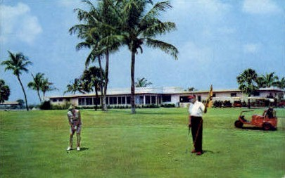 Country Club - Delray Beach, Florida FL Postcard