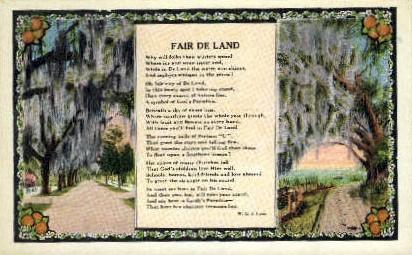 Fair De Land - Florida FL Postcard