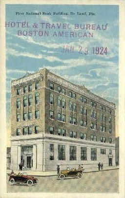 First National Bank - De Land, Florida FL Postcard
