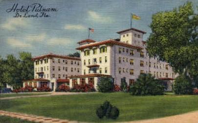 Putnam Inn - De Land, Florida FL Postcard