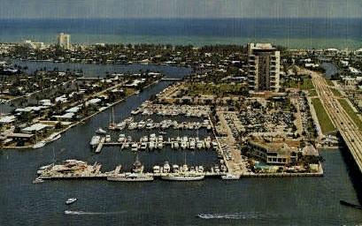 Pier 66 Hotel - Fort Lauderdale, Florida FL Postcard