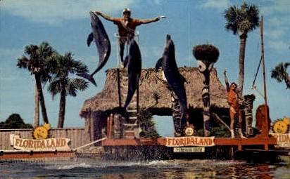 Floridaland - Misc Postcard