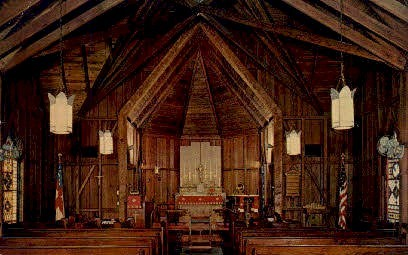 All Saints Episcopal Church - Enterprise, Florida FL Postcard