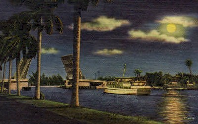Yachting - Delray Beach, Florida FL Postcard