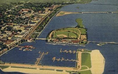 Yacht Basin - Daytona Beach, Florida FL Postcard