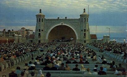 Bandshell - Daytona Beach, Florida FL Postcard