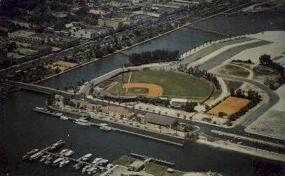 City Island - Daytona Beach, Florida FL Postcard