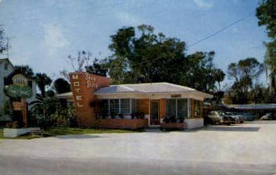 Sans Couci Motel - Daytona Beach, Florida FL Postcard