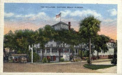 Williams Hotel - Daytona Beach, Florida FL Postcard
