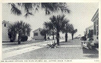San Salvador Cottages - Daytona Beach, Florida FL Postcard