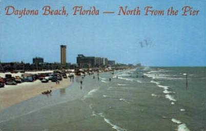 Pier   - Daytona Beach, Florida FL Postcard