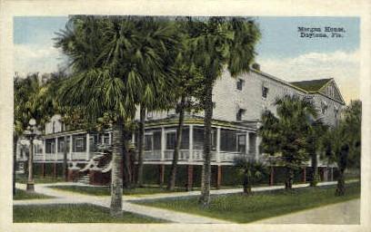 Morgan House - Daytona Beach, Florida FL Postcard