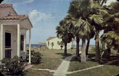 Florida Shores - Daytona Beach Postcard
