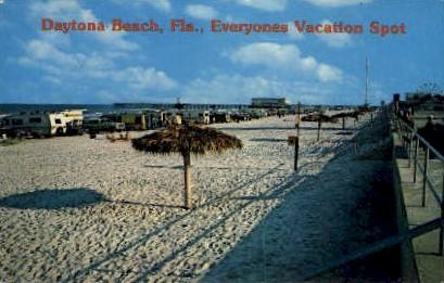 Vacation Spot - Daytona Beach, Florida FL Postcard