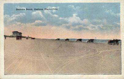 Daytona Beach - Florida FL Postcard