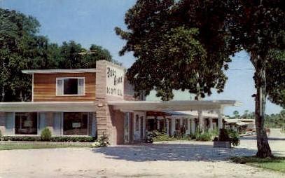 Bel-Aire Motel - Daytona Beach, Florida FL Postcard
