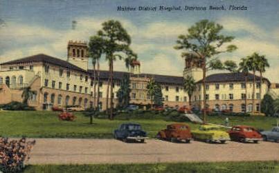 Halifax District Hospital - Daytona Beach, Florida FL Postcard