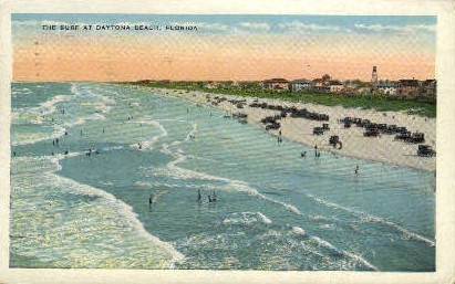 The Surf - Daytona Beach, Florida FL Postcard