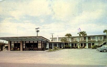 Buccaneer Motel - Daytona Beach, Florida FL Postcard