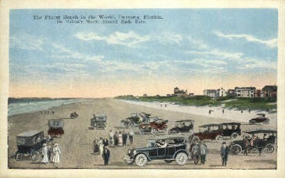De Palma's World Record - Daytona Beach, Florida FL Postcard