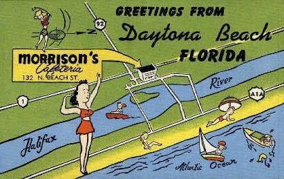 Morrison's Cafeteria - Daytona Beach, Florida FL Postcard