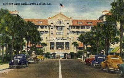 Sheraton Plaza Hotel - Daytona Beach, Florida FL Postcard