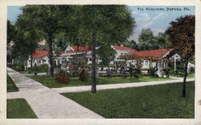 Bungalows - Daytona Beach, Florida FL Postcard